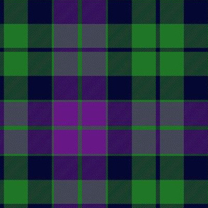 MacKay or Logan Tartan, purple