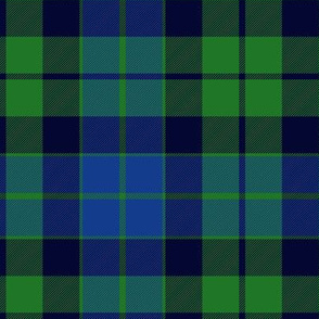 MacKay or Logan tartan, light