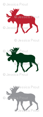 multi moose (small scale) || holiday