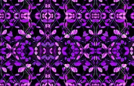 Dark Florals fabric by ak-wildenature on Spoonflower - custom fabric