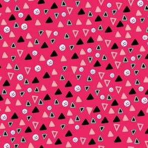 Pretty Disorganized Geometric, Dark Background