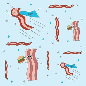 Super Bacon and Friends