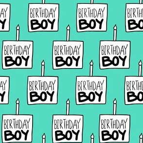 Birthday Boy Mint - Medium