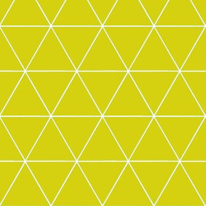 TRIangles - yellow lime