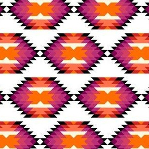 SW HEXagon - red magenta orange