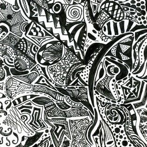 Abstract Doodles  2