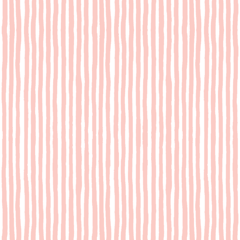 Marker Stripes (Rose Quartz) Vertical fabric by leanne on Spoonflower - custom fabric