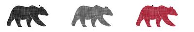multi bear (small scale) | the lumberjack