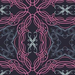 Swirly Calligraphic Elements