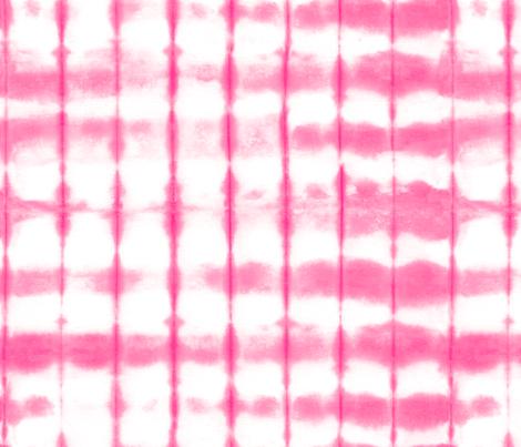 Shibori 20 Bright Pink fabric by theplayfulcrow on Spoonflower - custom fabric