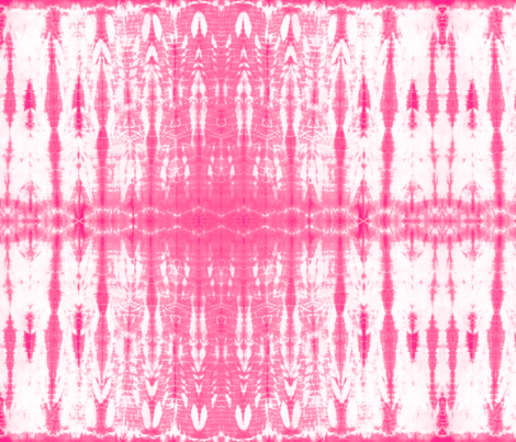 Shibori 21 Bright Pink fabric by theplayfulcrow on Spoonflower - custom fabric
