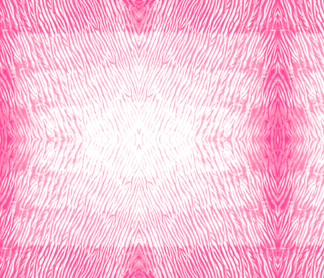 Shibori 23 Bright Pink fabric by theplayfulcrow on Spoonflower - custom fabric