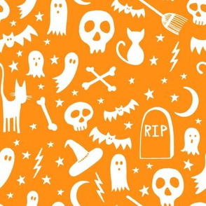 Spooky Halloween Orange