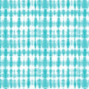 Shibori 02 Aqua 8 inch repeat
