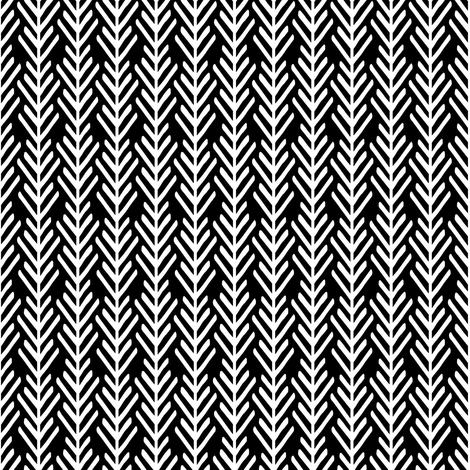 Black & White Geometric Print fabric by shopcabin on Spoonflower - custom fabric
