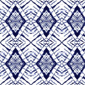 Dye Diamond Indigo
