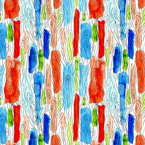 Tree Bark Pattern Color