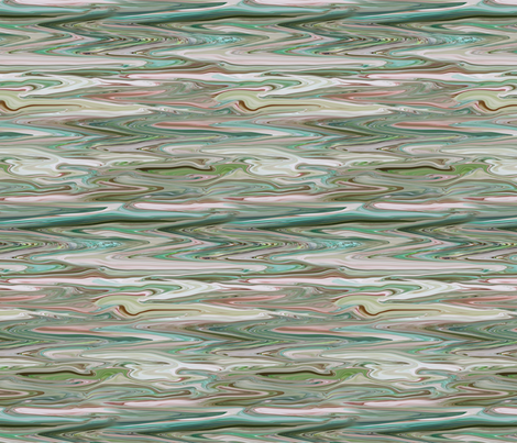 DRSC1 - Melted Marble in Teal - Moss Green - Mauve -Pink - Large - Crosswise fabric by maryyx on Spoonflower - custom fabric