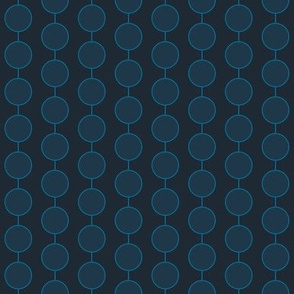 Small Chain (deep indigo)