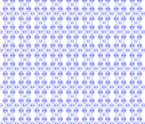Doodle Yuhei blue fabric by knusperfelix on Spoonflower - custom fabric