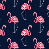Vintage flamingo