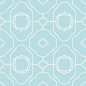 Baroque Soft Blue