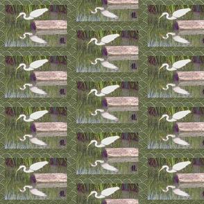 Japanese Paper Egret