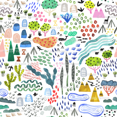 Colorful Wilderness