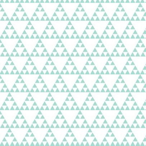 Tribal Triangle in Mint