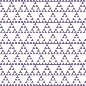 Tribal Triangle in Purple