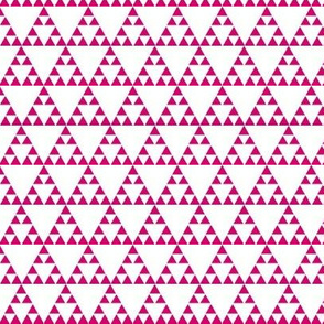 Tribal triangle in Pink