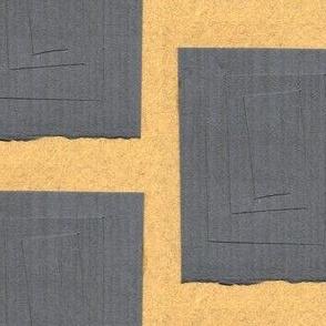Cut Gray Paper
