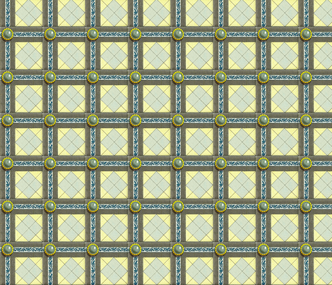 Regency wall treatment fabric by unseen_gallery_fabrics on Spoonflower - custom fabric