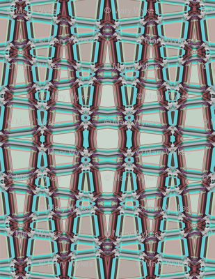Geometric Trellis, vertical large