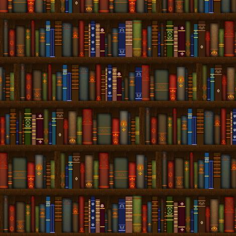 Tiny Books fabric by jadegordon on Spoonflower - custom fabric