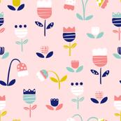 Spring Dreaming Pastel Pink