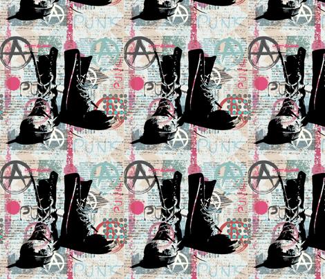 Punk Rock ! fabric by floramoon on Spoonflower - custom fabric