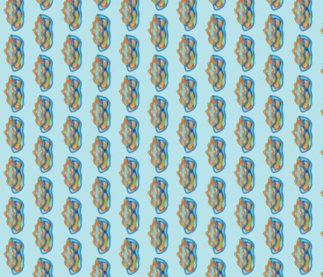 Sparkling Beach Glass fabric by rhondadesigns on Spoonflower - custom fabric
