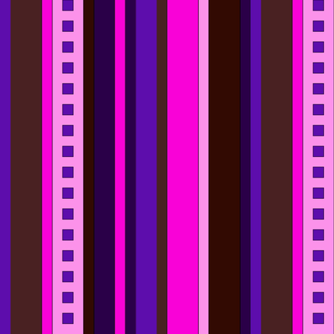 BN7 - Variegated Stripes in Pink - Purple - Burgundy - Maroon - Lengthwise fabric by maryyx on Spoonflower - custom fabric