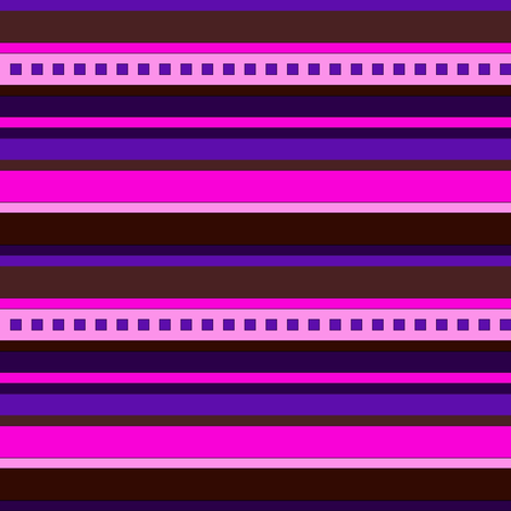 BN7 - CW Stripe in pinks, purple and maroon fabric by maryyx on Spoonflower - custom fabric