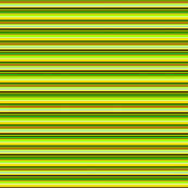 Bella Nina 5 - Horizontal Variegated Pinstripe in Green, Yellow and Brown