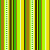 Bella Nina 5 - Vertical Variegated Stripe in Green, Yellow and Brown, large scale-ed