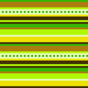 Bella Nina 5 - Horizontal  Variegated Stripe in Green, Yellow and Brown, large scale