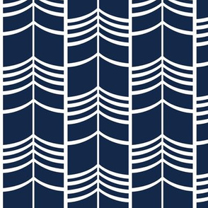 Arrow Columns | Indigo Small