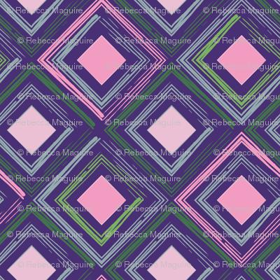 Purple Cubes