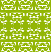 Island Tribal Print 2 - Leaf