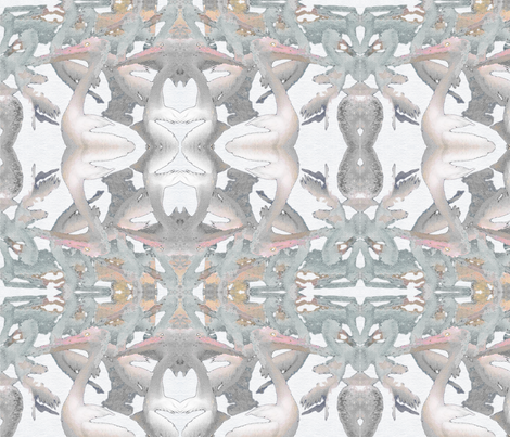 Pelicans fabric by paperbark on Spoonflower - custom fabric