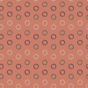 Summer Circles (orange)