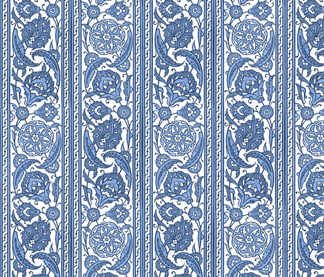Victorian stripes fabric by unseen_gallery_fabrics on Spoonflower - custom fabric