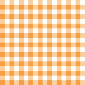 Gingham Tangerine
